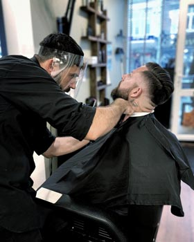 Barbershop Portsmouth back in business from 12th of April 2021